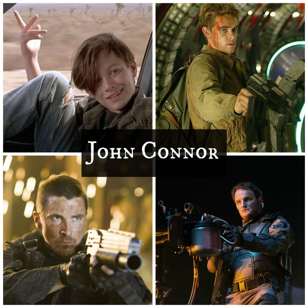 John Connor - Terminator movies