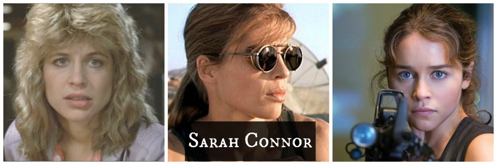 Sarah Connor - Terminator movies