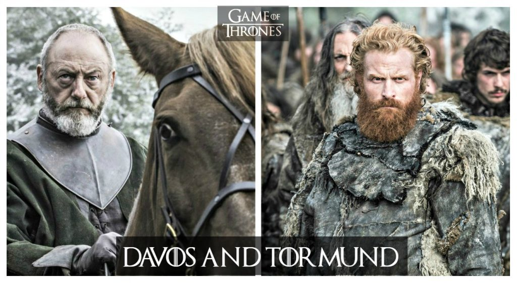 Game of Thrones - Davos and Tormund FTW
