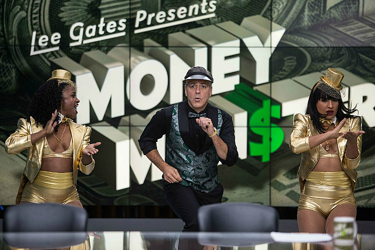 George Clooney dancing Money Monster