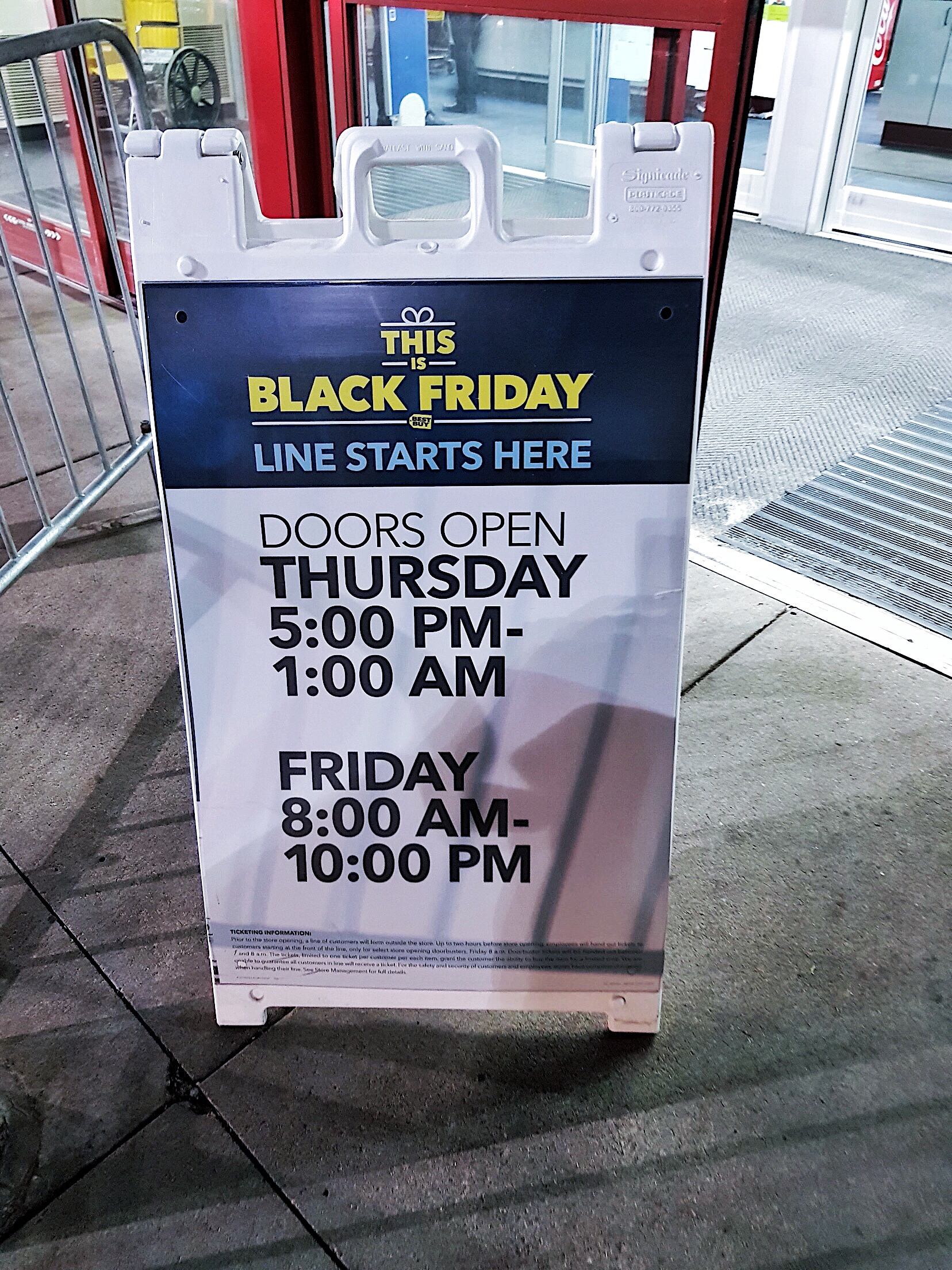 Best Buy Black Friday 2017 - Wausau, Wisconsin