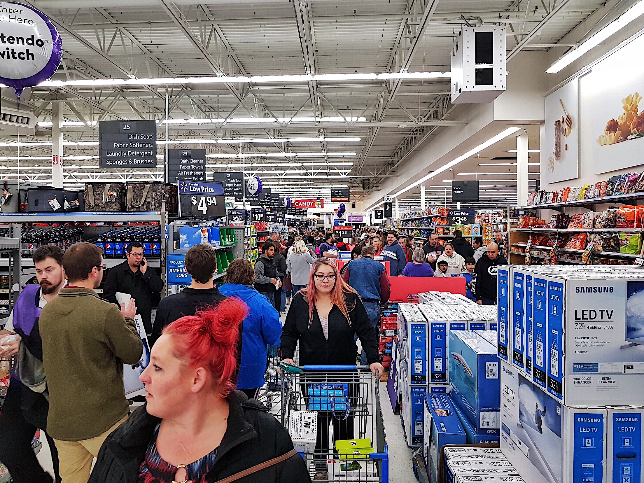 Walmart Black Friday 2017 - Wausau, Wisconsin